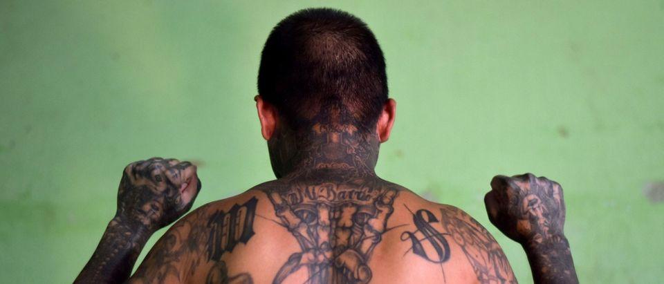 EL SALVADOR-GANGS-TATTOOS