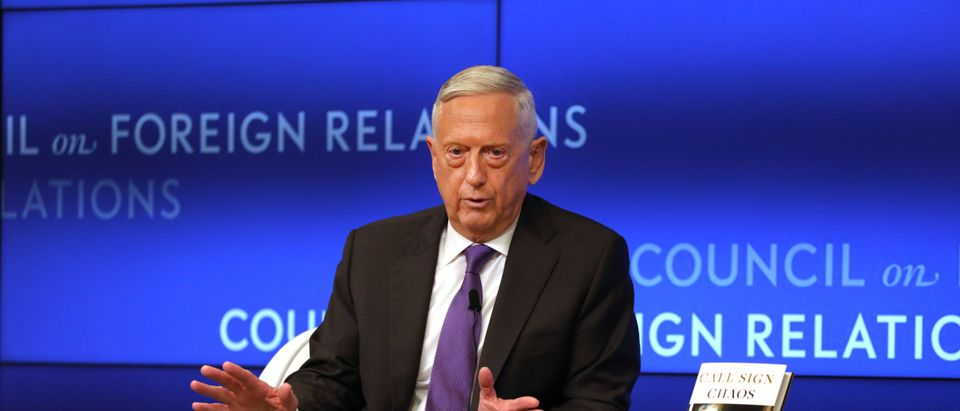 Former Defense Secretary Mattis Speaks At Council On Foreign Relations