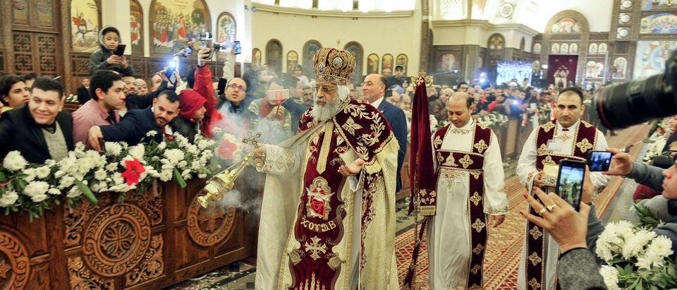 EGYPT-RELIGION-COPTIC-CHRISTMAS