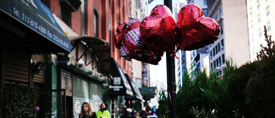 Valentine's Day Celebrated In New York