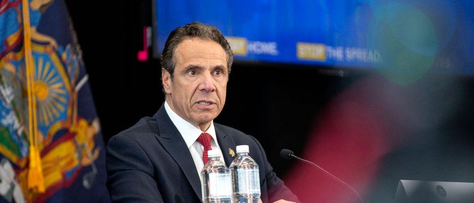 NY Gov. Cuomo Holds Daily Coronavirus Briefing In Syracuse