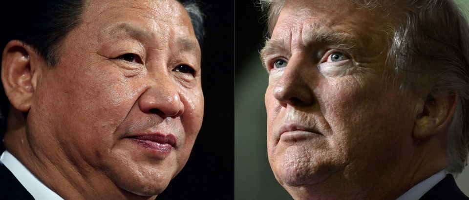 "This combination of pictures created on May 14, 2020 shows recent portraits of China's President Xi Jinping (L) and US President Donald Trump. - US President Donald Trump said on May 14, 2020, he is no mood to speak with China's Xi Jinping, warning darkly he might cut off ties with the rival superpower over its handling of the coronavirus pandemic. ""I have a very good relationship, but I just -- right now I don't want to speak to him,"" Trump told Fox Business. (Photo by DAN KITWOOD,NICHOLAS KAMM/AFP via Getty Images)"