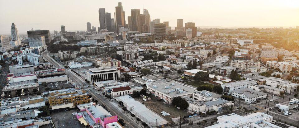 Los Angeles Skyline Downtown