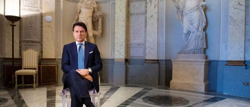 ITALY-HEALTH-VIRUS-POLITICS-DIPLOMACY-EU-ECONOMY