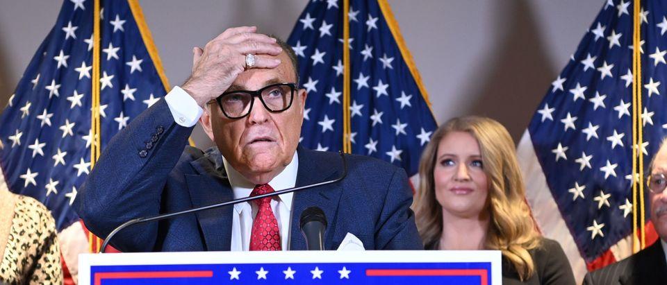 Dominion Voting Systems Sues Rudy Giuliani For $1.3 Billion