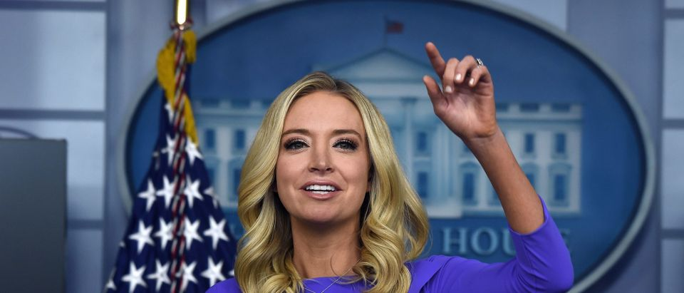 us-politics-McEnany-briefing