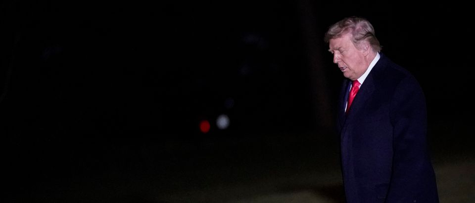 President Trump Departs White House For Georgia Rally Supporting GOP Senate Candidates