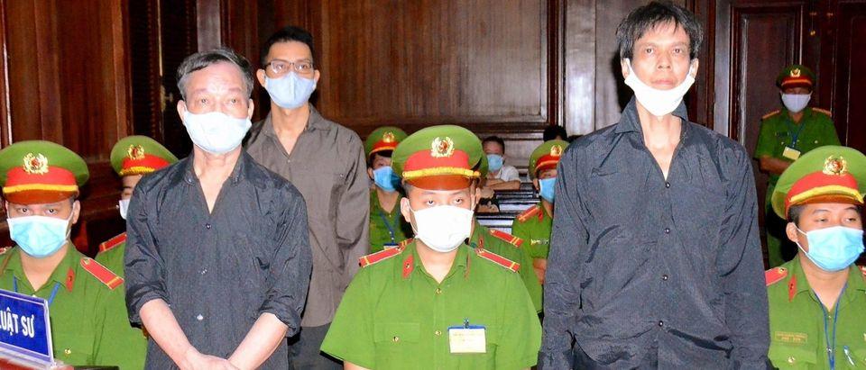 Vietnam Journalists Trial