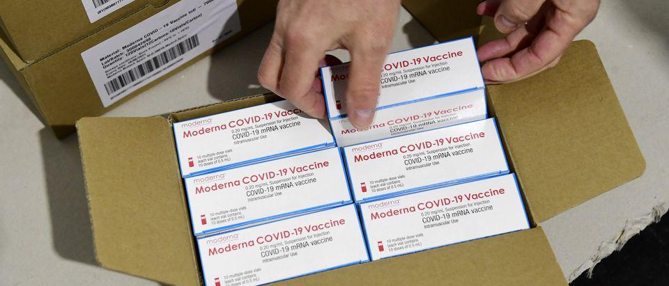 HUNGARY-HEALTH-VIRUS-VACCINE-MODERNA