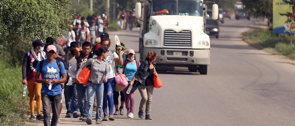 Migrant Caravan Begins Journey To The U.S.