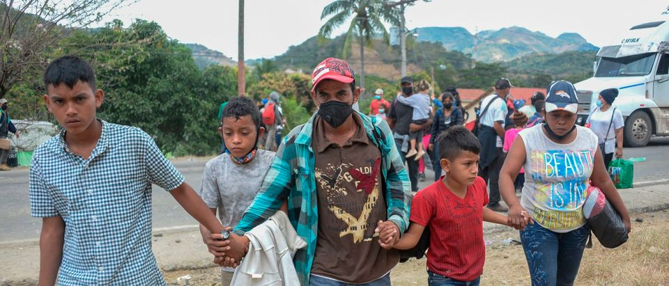 GUATEMALA-HONDURAS-US-MIGRATION-CARAVAN