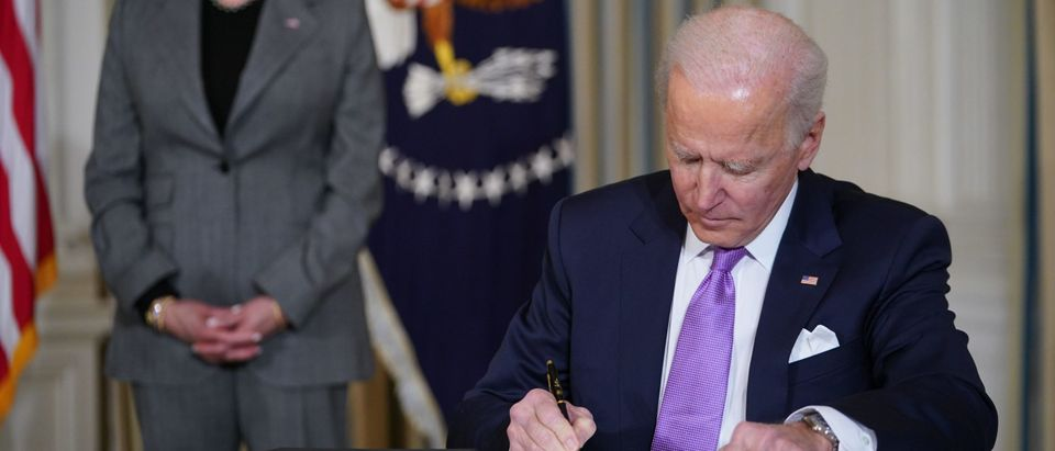 How 1 Move By Biden Already May Give People A Glimpse Into Biden Administration's Future: A Split Party