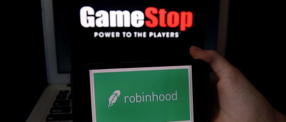 US-STOCKS-POLITICS-GAMESTOP-ROBINHOOD