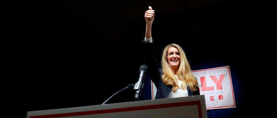 Sen. Kelly Loeffler Holds Election Night Party In Georgia