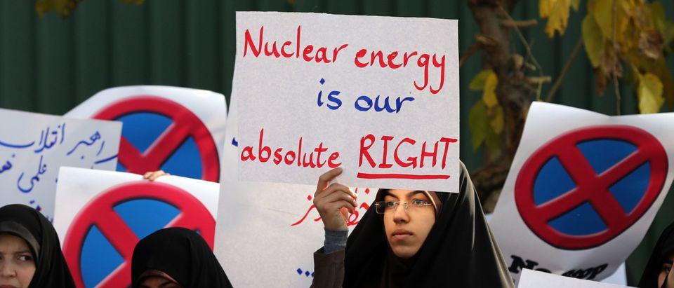 IRAN-NUCLEAR-POLITICS-DEMO