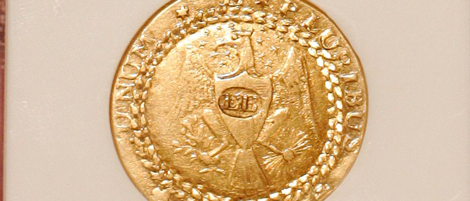 First U.S. Gold Coin Goes On Display