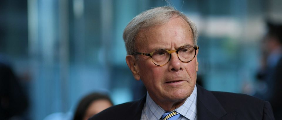 """Tom Brokaw attends the """"Five Came Back"""" world premiere at Alice Tully Hall at Lincoln Center on March 27, 2017 in New York City. (Mike Coppola/Getty Images)"""