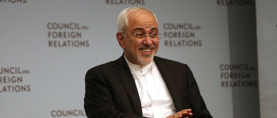 Iranian Foreign Minister Zarif Addresses Council On Foreign Relations In NYC
