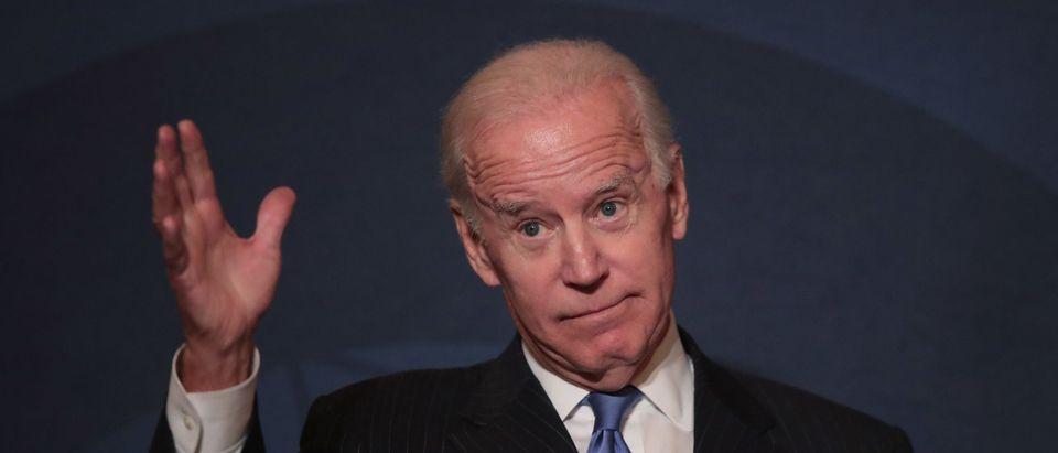 Former VP Joe Biden Addresses Chicago Council On Global Affairs