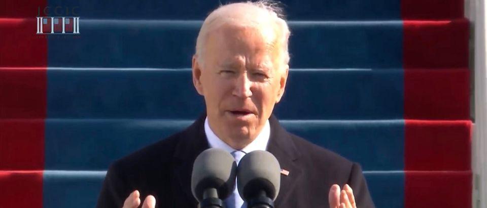 President Joe Biden. (Screenshot/Youtube/Joe Biden)
