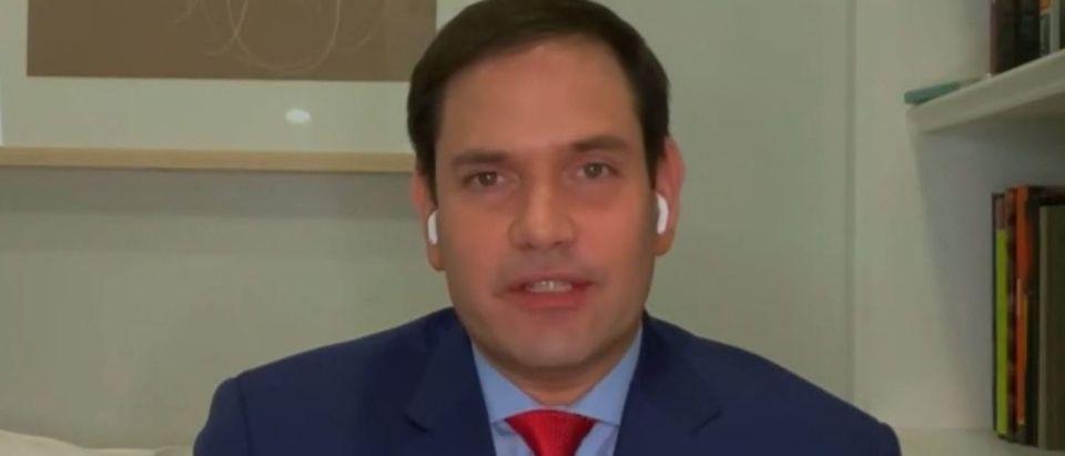 Marco Rubio discusses Trump impeachment (Fox News screengrab)