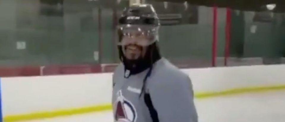 Marshawn Lynch (Credit: Screenshot/Twitter Video https://twitter.com/SportsCenter/status/1352302979857182730)
