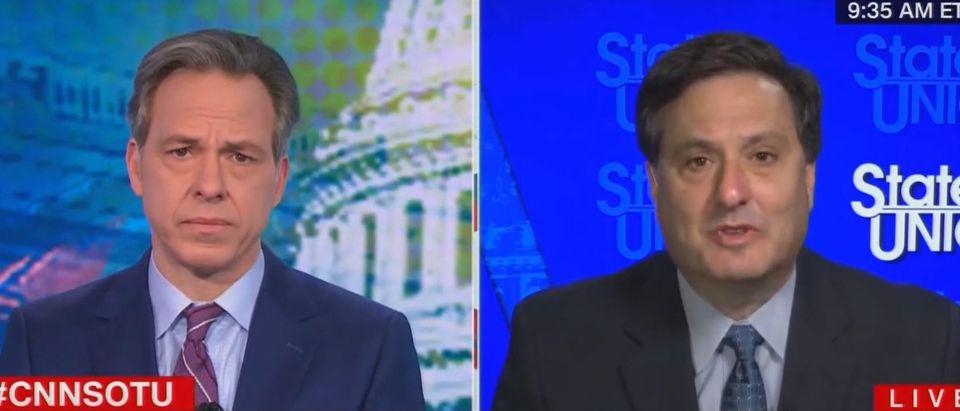 Ron Klain discusses vaccine distribtion (CNN screengrab)