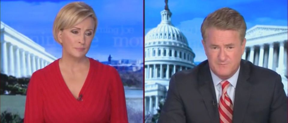 Mika Brzezinski and Joe Scarborough (Screenshot/MSNBC)
