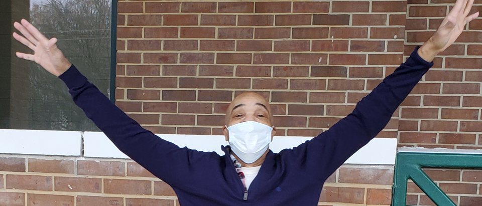 Eddie Lee Howard following his release from prison in December 2020 (Image: Courtesy of the Mississippi Innocence Project)