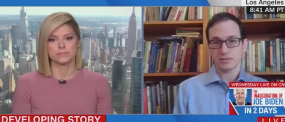 Kate Bolduan and Mike Rothschild (Screenshot/CNN)