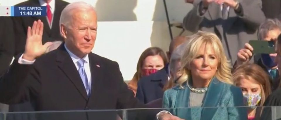 President Joe and First Lady Jill Biden (MSNBC)