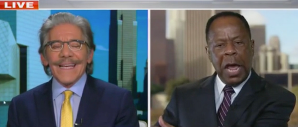 Geraldo Rivera and Leo Terrell (Screenshot/Fox News)