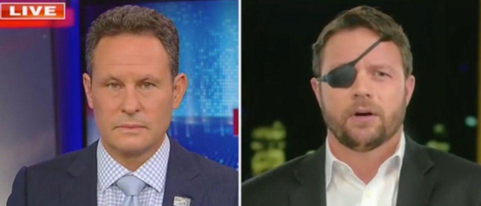 Brian Kilmeade and Rep. Dan Crenshaw (Screenshot/Fox News)