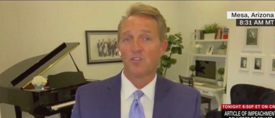 Jeff Flake (Screenshot/CNN)