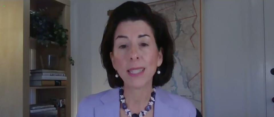 Gina Raimondo Testifies Before The Senate