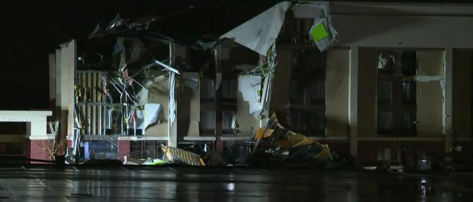 Building destroyed by Fultondale tornado