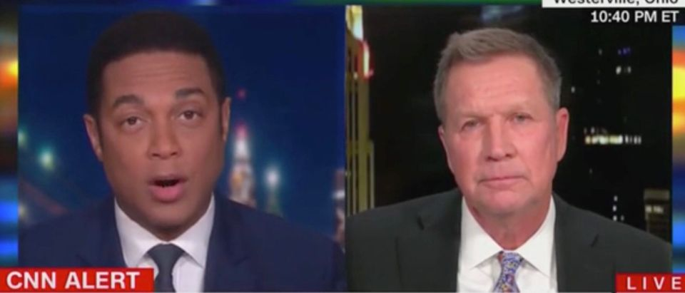 Don Lemon and John Kasich (Screenshot/CNN)