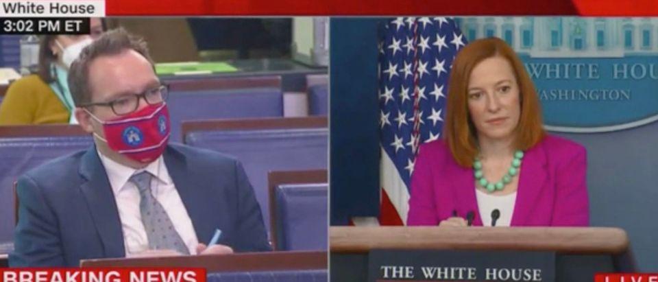 Rob Crilly and Jen Psaki (Screenshot/CNN)