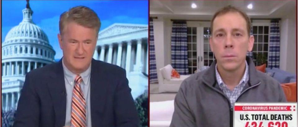 Joe Scarborough and Jim VandeHei (Screenshot/MSNBC)