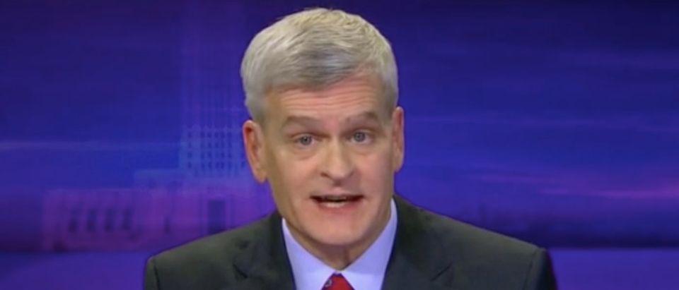 "Louisiana Republican Sen. Bill Cassidy appears on ""Fox News Sunday."" Screenshot/FOX"
