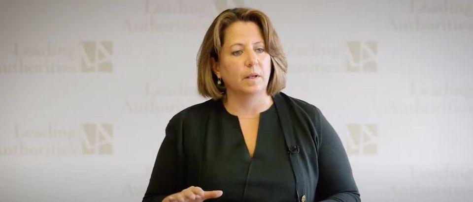 Former Homeland Security Adviser Lisa Monaco (YouTube screen capture/Leading Authorities Speakers Bureau)