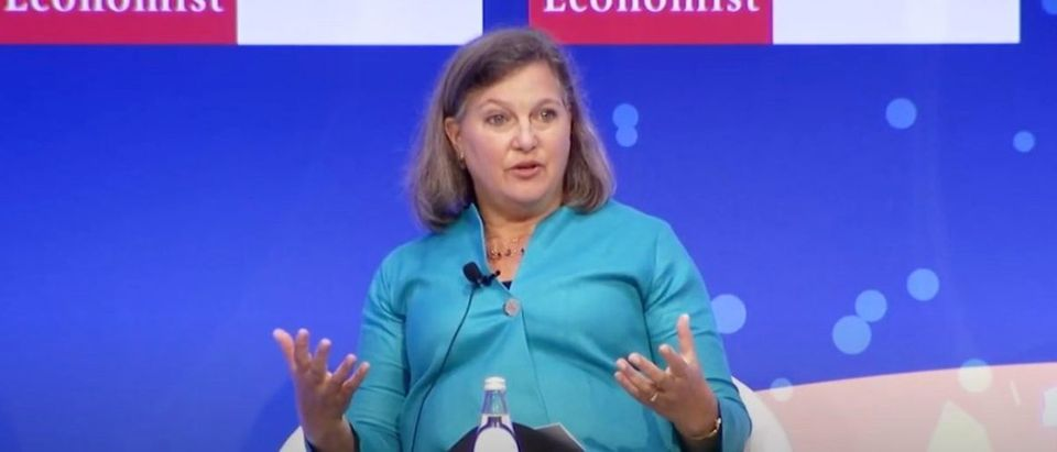 Victoria Nuland speaks at the 23rd Economist Government Roundtable, Sep. 2, 2019. (YouTube screen capture/The Economist)
