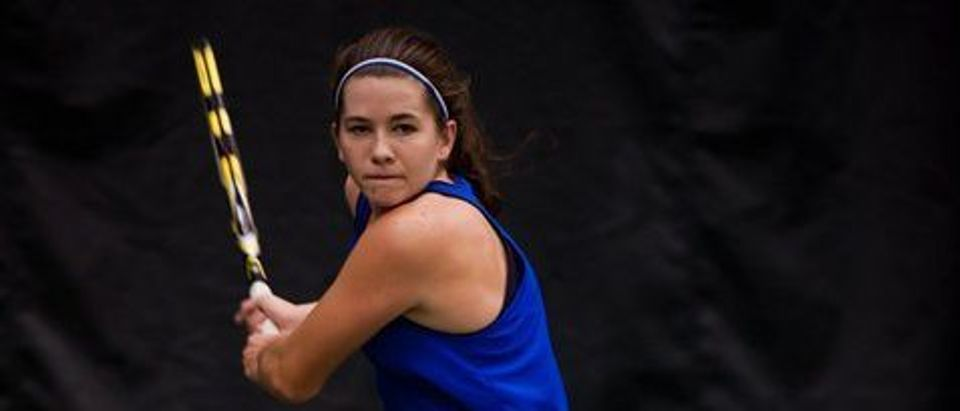 Shelby Talcott, a former D1 and professional athlete, training in New York.