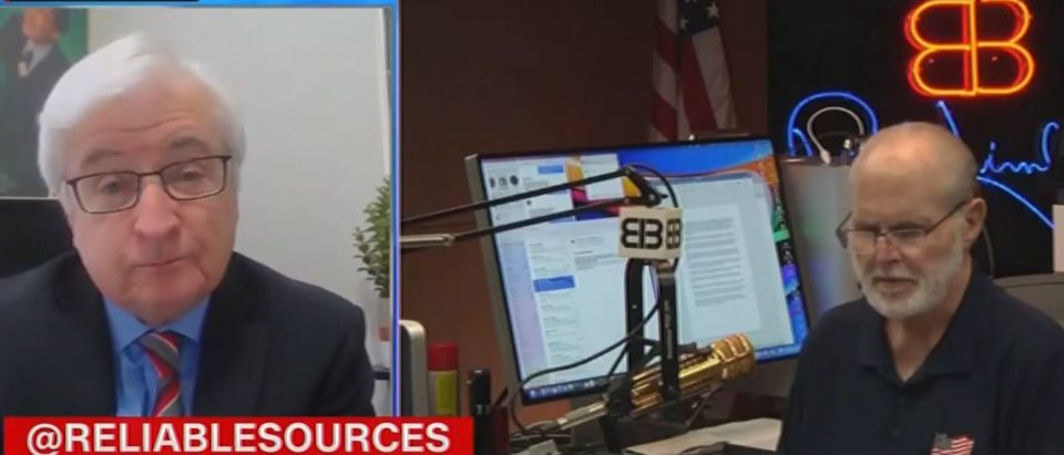 Bill Carter says Florida shouldn't have lowered flags for Rush Limbaugh (CNN screengrab)