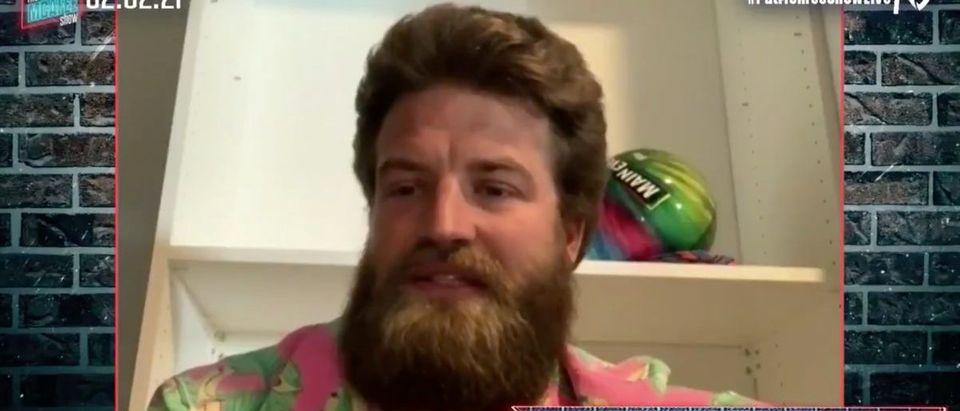 Ryan Fitzpatrick (Credit: Screenshot/Twitter Video https://twitter.com/PatMcAfeeShow/status/1356698203446460418)
