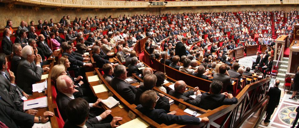 New-elected deputies attend the opening