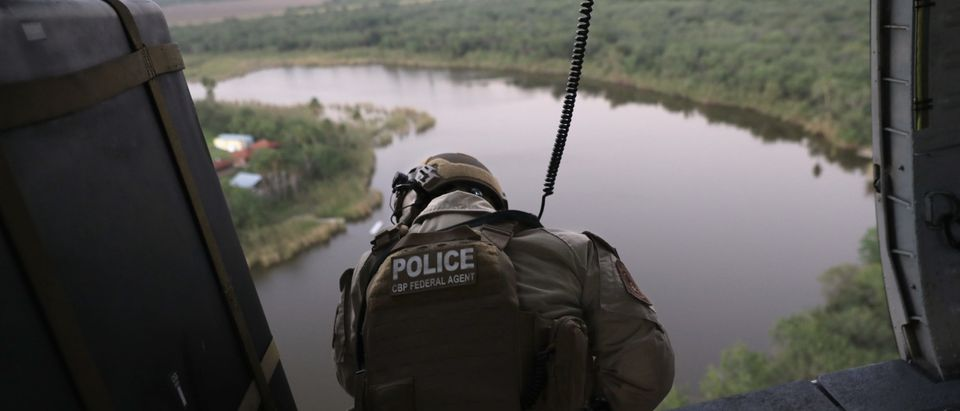 CBP Conducts Helicopter Patrols Of U.S. - Mexican Border