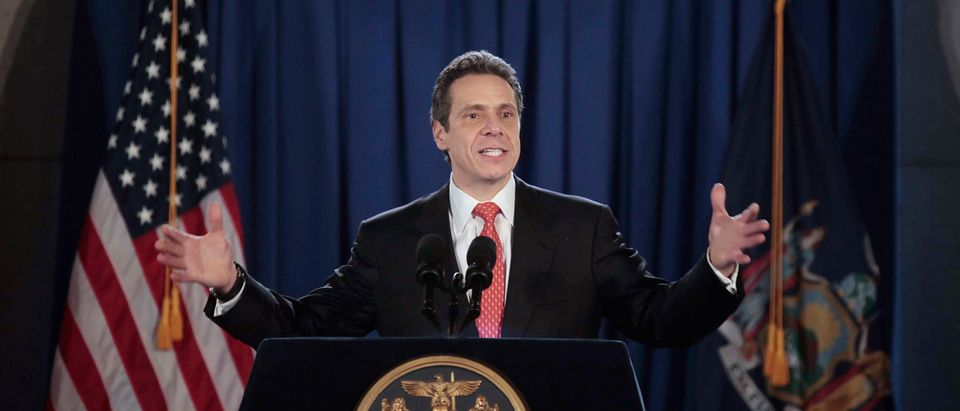 New York Inaugurates Cuomo As Governor