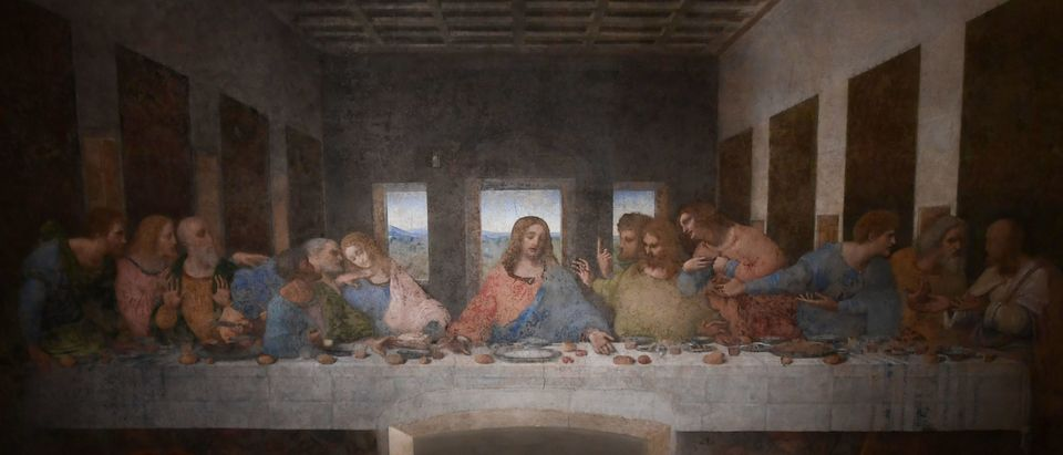 """The Last Supper"" painting by Leonardo da Vinci"