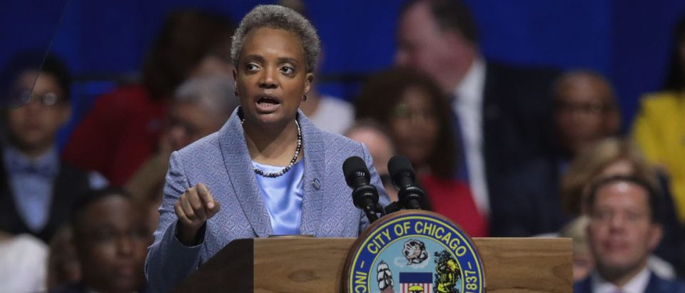 Lori Lightfoot Is Sworn In As Chicago's First Female African American Mayor